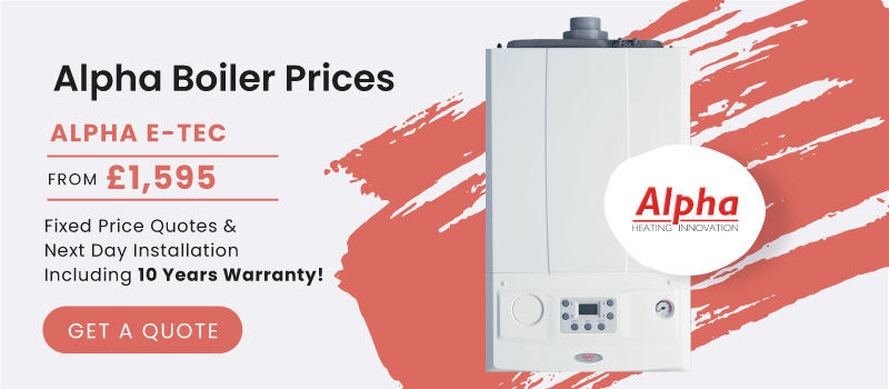 alpha boiler prices