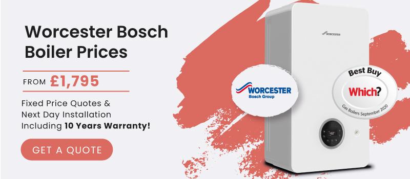 worcester bosch boiler prices
