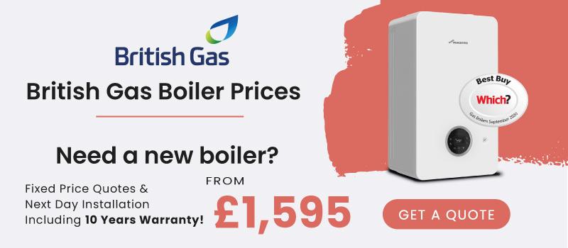 british gas new boiler