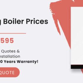 condensing boiler prices